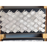 High Quality China Grey Wooden Mosaic supplier Grey Wooden Mosaic HY-19
