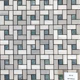 High Quality China Grey Wooden Mosaic supplier HY-36