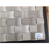 High Quality China Grey Wooden Mosaic exporter HY-64