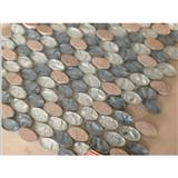 Glass Mosaic Oval NL-344