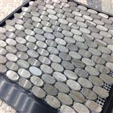 China Supplier Grey Wooden Mosaic A034S