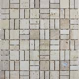 Travertine Mosaic Supplier China NVL30194