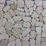 Travertine Mosaic Supplier China NVL30122